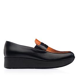 PANSY 883 - negru/portocaliu