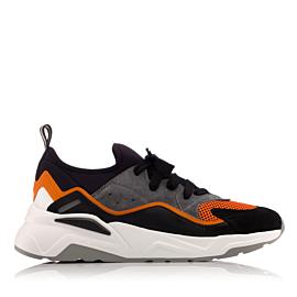 ASHTON U27 - negru/portocaliu